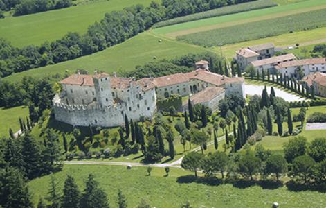 Castello Villalta aerea@ConsorzioSalvaguardia CastelliStoriciFriuli