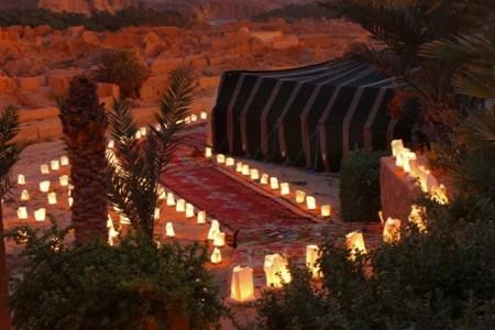 Tunisia - candele nel deserto