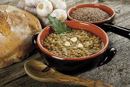 lentils soup- lenticchie