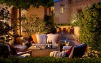 Roma, cena e jazz in terrazza