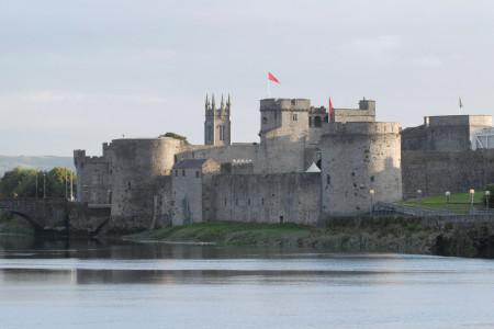 Irlanda, Il King-Johns-Castle di Limerick,