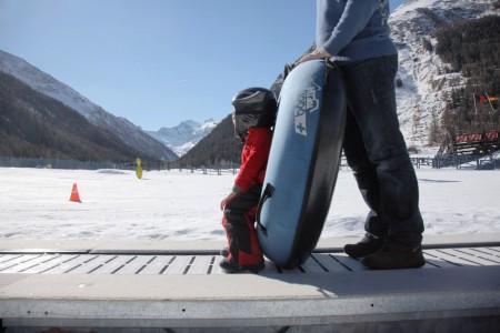 Sciare nelal valle di Cogne