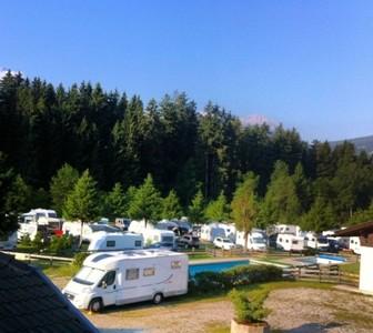 Dolomiti - camping Corones