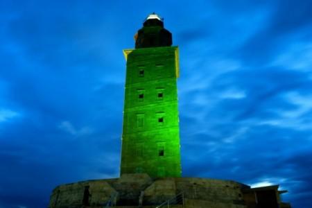 La Torre di Hercules a Coruna
