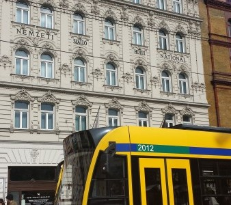 esterno Nemzeti Hotel