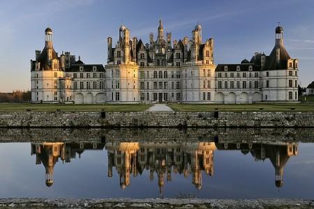 Un magico riflesso del castello di Chambord