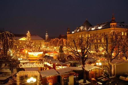 Il mercatino di Natale a Klagenfurt