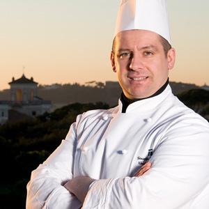 Lo chef Giuseppe D'Alessio