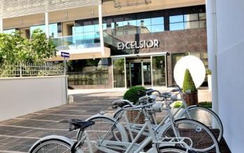 Pesaro, l'Hotel Excelsior bikefriendly