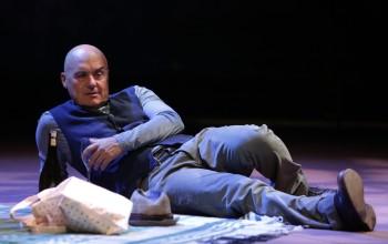 Luca Zingaretti al teatro Argentina