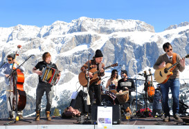 Rock The Dolomites: musica sulle piste in Val Gardena