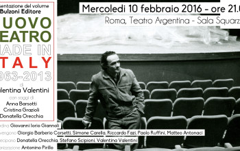 Teatro Made in Italy 1963 – 2013