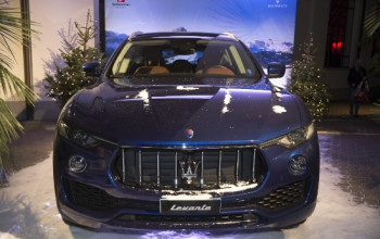 """Maserati """"auto ufficiale"""" della Val Gardena"""