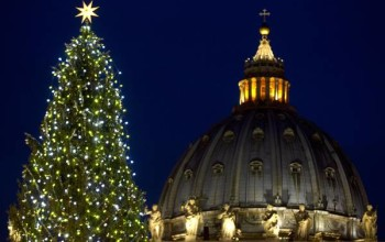 La Valsugana regala l'albero al Papa