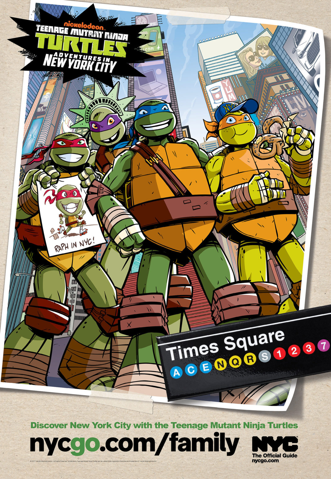 Le tartarughe ninja alla scoperta di new york classtravel